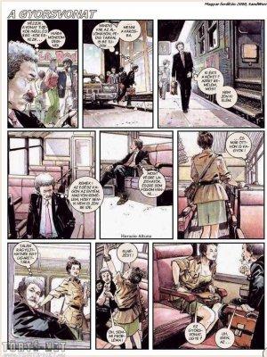 A gyorsvonat - 1. oldal