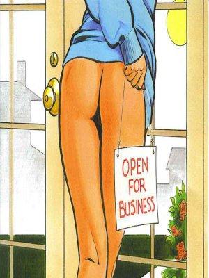Otthoni munka - Erotikus képregény