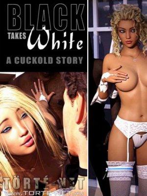 Fekete fickók fehér nőben - Az esküvő - Erotikus képregény