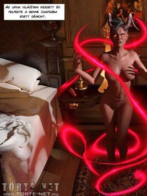 Cara Lox - A démon csókja 3-5. rész - Erotikus képregény