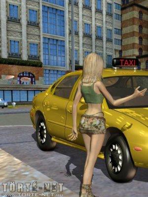 Alice naplója 5. rész - Túl dögös taxis - Erotikus képregény
