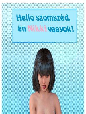 Hello szomszéd, én Nikki vagyok! - Erotikus képregény