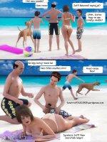 Családi vakáció (gruppen) - Erotikus képregény