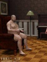 A szexuális játék (hetero) - Erotikus képregény