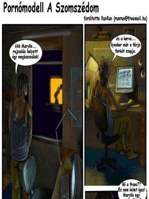 Pornómodell a szomszédom