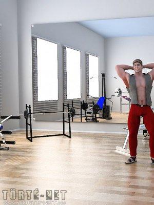 Edzőteremben