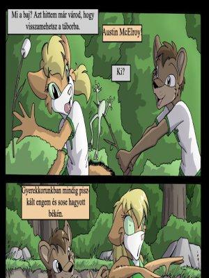 Amy nyári kalandjai a kicsi báránytáborban