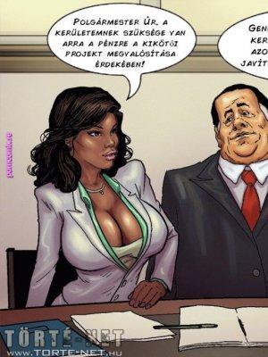 A polgármester 3-4. rész - Erotikus képregény