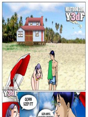 Lebukás - Anyuval a tengerparton