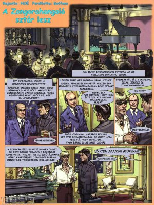 A Zongorahangoló 12. rész - A Zongorahangoló sztár lesz - 1. oldal