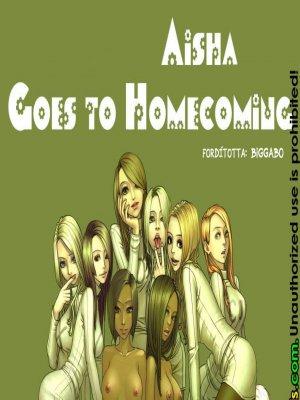 Aisha hazafutása