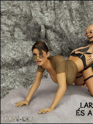 Lara Croft és a 3 Gollam