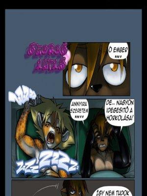 Yaoi - Furry Kalandok 5. rész - Szoros Alvás