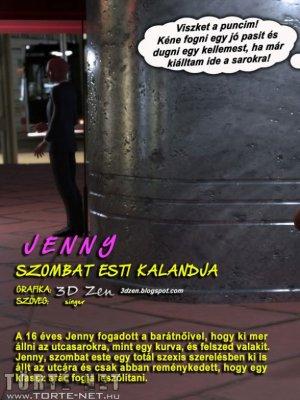 Jenny szombat esti kalandja