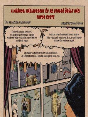 A háziasszony és az utolsó őrült náci tudós - Erotikus képregény
