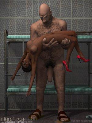 Mara a börtönben - Erotikus képregény - 1. oldal