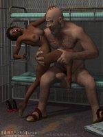 Mara a börtönben - Erotikus képregény - 11. oldal