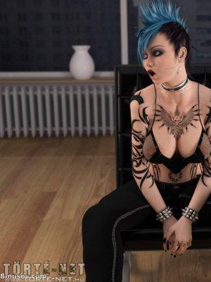 A tetovált lány, avagy a lány, aki a tűzzel játszott... - Erotikus képregény