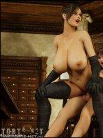 Dickgirls 6. rész -  Gisela és Sara - 32. oldal